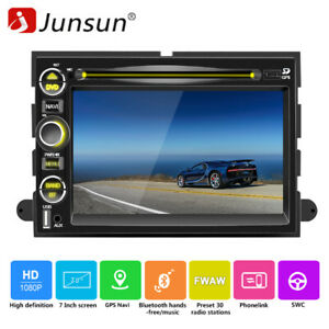 For Ford F150 Mustang Touchscreen Bluetooth Dvd Gps Navigation Stere Car Radio