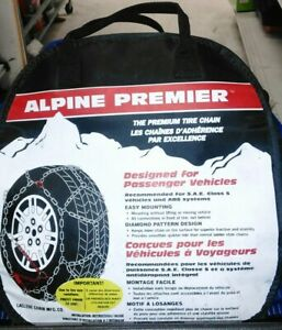 1555 Alpine Premier Les Schwab 1555 s Quick Fit Diamond Pattern Snow Chains