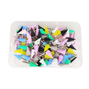 100pcs pack New Dental Polishing Cup Silicone Polisher Tapered Tucker Easy