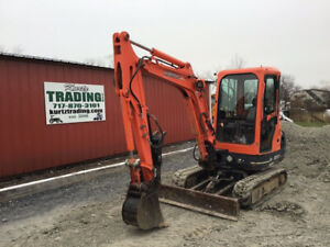 2006 Kubota Kx91 3 Hydraulic Mini Excavator W Cab Thumb Only 2800 Hours