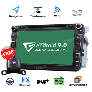 Cam eonon Android 9 0 8 Car Stereo Gps Radio Dvd Player Audio For Volkswagen Vw