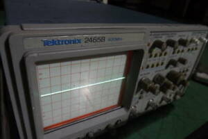 Tektronix Tektronix 2465b Oscilloscope 400mhz No Power Cord