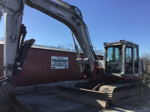 2007 Takeuchi Tb1140 Hydraulic Excavator W Cab Thumbonly 4700 Hours