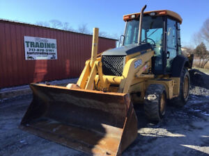 2006 John Deere 310g 4x4 Tractor Loader Backhoe W Cab Only 3300 Hours
