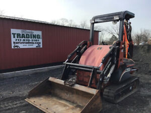 2009 Ditch Witch Xt1600 Compact Track Tractor Loader Backhoe Only 1800 Hours