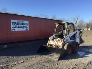 1998 Bobcat 753f Skid Steer Loader W Kubota Diesel Engine