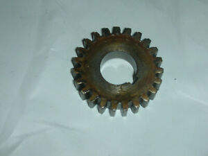 Atlas Craftsman 10 12 Inch Lathe Quick Change Gearbox 23 Tooth Gear 10 1518 Used