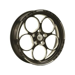 Weld Racing 86b 1704204 Pro Drag Magnum 2 0 17x4 5 Bolt Pattern 5x4 5 In 12 7
