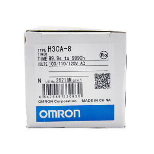 Omron Timer H3ca 8 H3ca8 100 110 120vac New In Box Free Ship