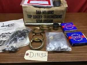 Dan Williams Ford Top Loader 4 Speed Transmission Rebuild Kit Input And Output
