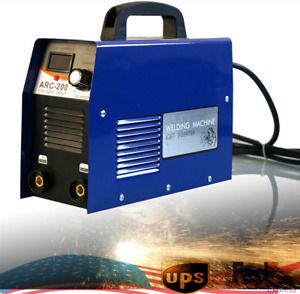 200amp Mma arc Stick Dc Igbt Inverter Welder Dual Voltage Welding Machinearc 200