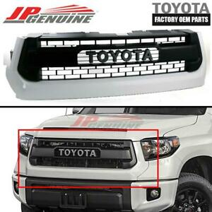 Genuine Toyota 2014 2017 Tundra Trd Pro Oem Front Grill Grille 53100 0c260 A0