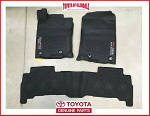2013 2020 Toyota 4runner Trd Pro All Weather Floor Liners Rubber Floor Mats