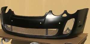 Bentley Continental Gt gtc Ss style Front Bumper Cover W stainless Grills