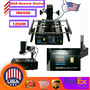 Ir6500 Upgraded Bga Air Infrared Rework Station Reflow Reball For Xbox 360 Ps3