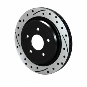 Wilwood 160 14041 bk Srp Drilled Performance Rotor Hat Left Hand 12 01 Dia