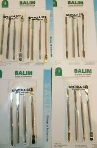 8 Pack Set Of 4 Wax Carver Spatula Jewelers Dental Modeling Tools Jewelery