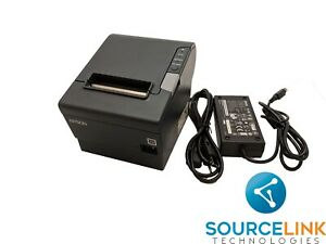 Epson Tm t88v M244a Thermal Printer Ethernet Interface W Ps 180