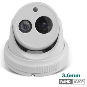 Hd Tvi Vandal Proof Turret Cctv Camera 1080p Exir Ip66 3 6mm Lens
