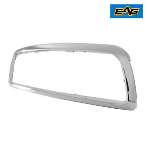Eag Fit 2009 2012 Dodge Ram 1500 Chrome Grille Shell Abs Plastic
