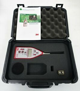Quest Technologies 3m 2200 Type 2 Impulse Integrating Sound Level Meter Slm