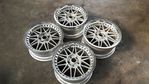 Jdm 17 Work Rezax Mesh Wheels 114 3x5 For Is250 Gs400 Ls400 240sx 180sx S14 Z31