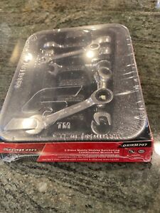 New Snap On 8 Thru 14 12 Point Box End Midget Ratchet Wrench Set Oxirm707sealed