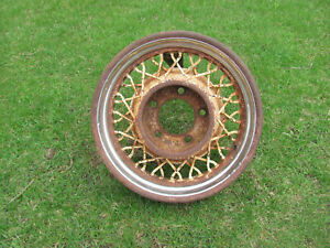 Vintage 1930 s Wire Wheel 1935 Lincoln Kelsey Hayes