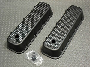 Aluminum Finned Valve Covers Chevrolet Chevy Big Block 396 402 427 454