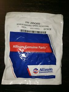 Genuine allison Transmission Speed Sensor 29543432 Buy Oem Quality Parts