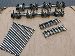 Ford Solid Lifters Adjustable Rockers Pushrods Fe 352 390 406 427 428 Cj