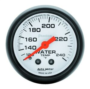 Autometer 5732 Phantom Mechanical Water Temperature Gauge