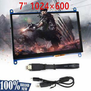 New 7 inch Capacitive Touch Screen Lcd Display 1024x600 Hdmi For Raspberry Pi Us