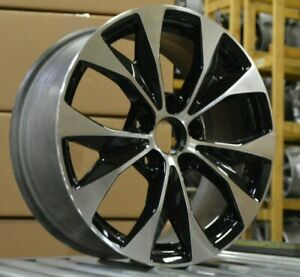 17 Honda Civic 2012 2013 2014 Factory Oem Rim Wheel 64025 Black Machined Blem B