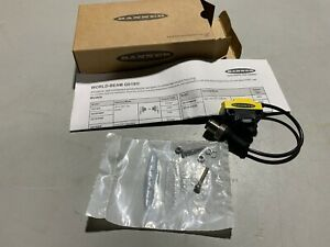 Banner World beam Qs18vp6lpq5 Mini Photoelectric Sensor Brand New