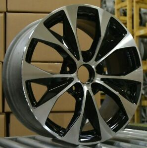 17 Honda Civic 2012 2013 2014 Factory Oem Rim Wheel 64025 Black Machined Blem D