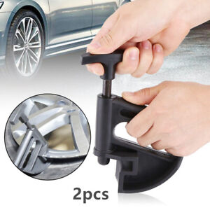 2x Portable Manual Tire Changer Bead Clamp Hand Tire Changer Bead Breaker Tool