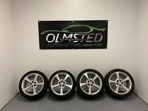 10 15 Chevy Camaro Ss Wheels Tires 20x8 20x9 Rim Wheel Oem Gm 9599043 Chrome