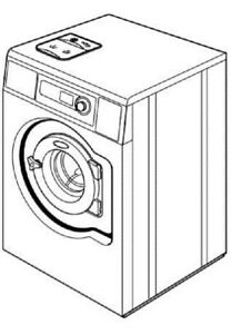 Wascomat Ex677co 75lb Washer extractor 300g Opl 220v 1ph Reconditioned