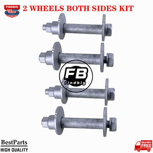 2 Wheels Both Sides Lower Control Camber Bolt Kit For Toyota 4runner Tacoma T100