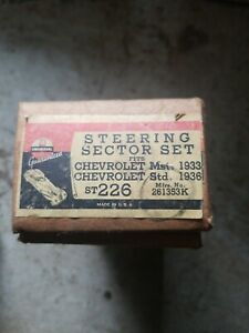 Nos 1933 Master 1936 Std Chevy Steering Sector Shaft