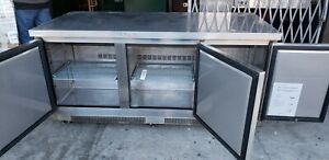 72 3 Door Under Counter Refrigerator Cooler Stainless Still Under Warrnty 1935