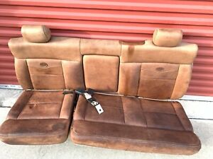 2005 2008 Ford F150 King Ranch Rear Back Seat Includes Fresh Painted Brackets