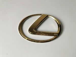 1995 1996 1997 1998 99 00 Lexus Ls400 Rear Gold Emblem Logo Lid Badge Sign Oem