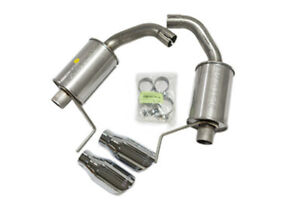 Roush Performance Parts Axle Back Exhaust Kit 15 16 Mustang V6 I4 P N 421837