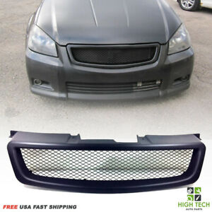 Fits For 2005 2006 Nissan Altima Front Mesh Style Grill Black Grille