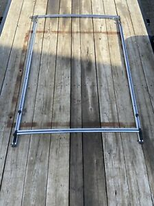 1989 1990 Jeep Cherokee Wagoneer Xj Factory Chrome Roof Luggage Rack Assembly