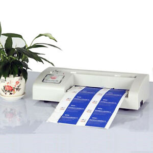 110v A4 Automatic Business Name Card Cutter Binding Machine For 3 5 x2 Card