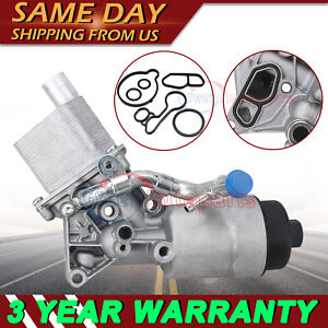 Engine Oil Cooler Filter Housing For Chevy Trax Sonic Cruze Buick 1 4l 55566784