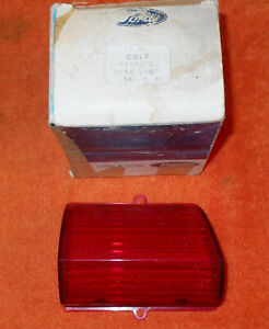 1960 Lincoln Hardtop Sedan Coupe Premiere Nos Rh Rear Tail Light Lamp Lens